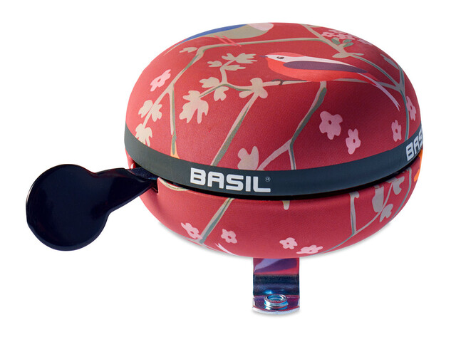 Basil Big Bell Wanderlust Bike Bell red/colourful